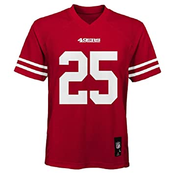 wholesale dealer 381c3 f04d8 Outerstuff Richard Sherman San Francisco 49ers NFL Youth Red Home Mid-Tier  Jersey