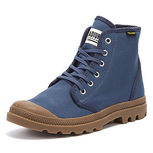- Palladium Pampa Hi Originale Mens Indigo Blue Boots-UK 10 / EU 44.5