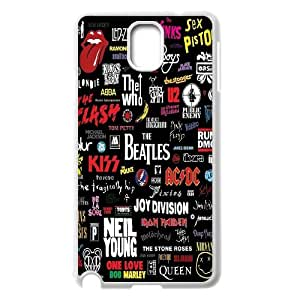 Unique Phone Case Design 16Music In Our Life- For Samsung Galaxy NOTE3 Case Cover