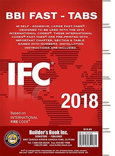Read Online 2018 International Fire Code (IFC) Fast Tabs PDF