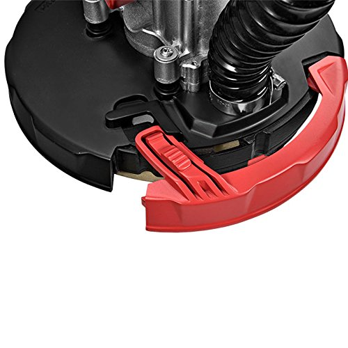 SUNCOO Commerical Electric Drywall Sander Variable Disc Sanding Pole Toosl Adjustable Speed Sanding with LED Light 750W Red by SUNCOO (Image #8)