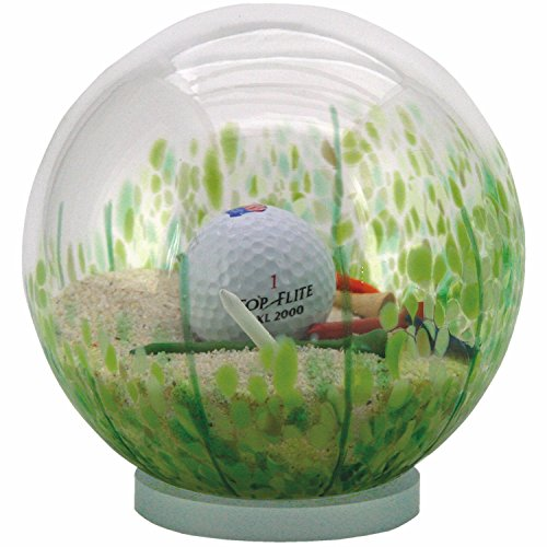 d Trap Golf Globe - Hand-Blown Glass - 6