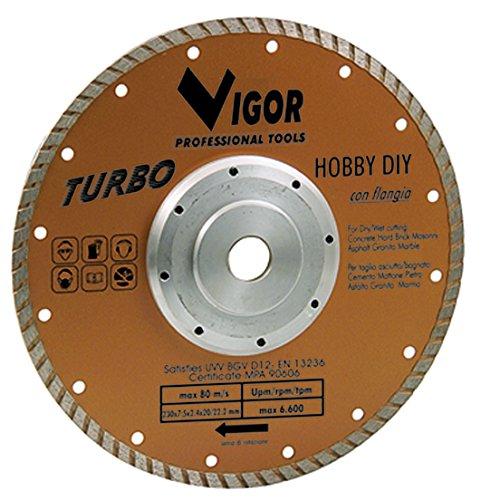Vigor Blinky 52815-10Turbo Hobby diy-blade Diamond, Diameter 230mm, Gold ()