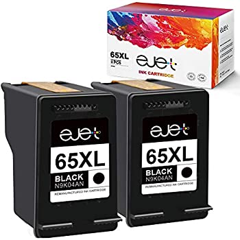 Amazon.com: JARBO 65 Ink Remanufactured for HP 65 65XL 65 ...