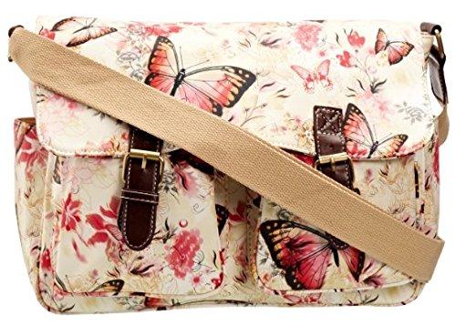 SwankySwans ,  Damen Tornistertasche , - weiß - Größe: One Size