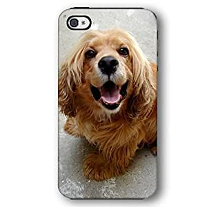 Cocker Spaniel Dog Puppy Diy For Iphone 5/5s Case Cover Armor Phone Case