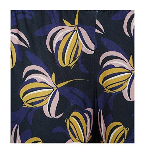 mujer Leggings para 21fashion Talla Negro florales npa81
