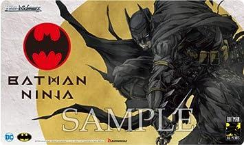 Batman Ninja TCG Official Playmat 16-inch Rubber Art mat Weiss Schwarz