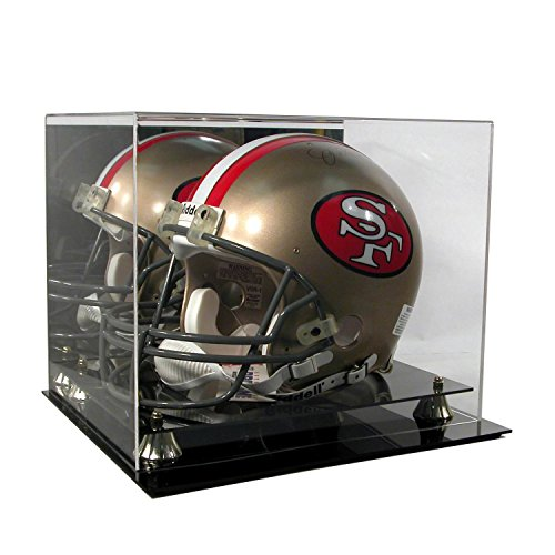 (Deluxe Acrylic Football Helmet Display Case)