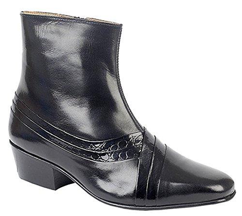 Noir Sandales noir homme MT5113 Compensées Montecatini SxzaqU4w
