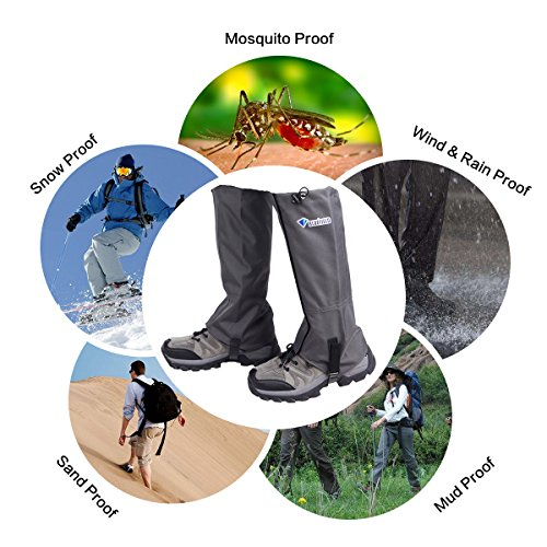 Bluefield Snow Leg Gaiters Waterproof Boot Gaiters Outdoor Hunting Hiking Sports Walking Climbing Leggings Cover