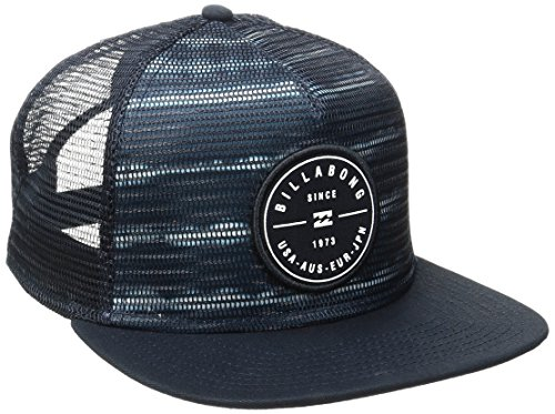 Billabong Mens Rotor Trucker Adjustable Hat One Size Navy (Billabong Men Hat)