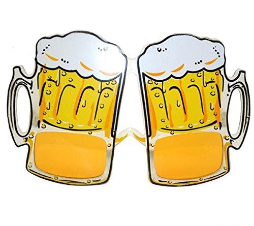Oktoberfest Beer Stein Shaped Eye - Costume Beer Glass