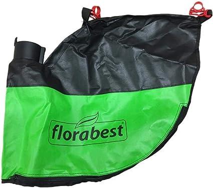 Flora Best Bolsa 45L con Soporte y Cremallera para Lidl Aspirador soplador FLS 3000 B2 Ian 285190: Amazon.es: Jardín