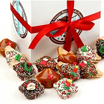 Christmas Fortune Cookies in Gift Box  sc 1 st  Amazon.com & Amazon.com: Christmas Fortune Cookies in Gift Box Aboutintivar.Com