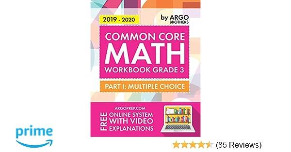 Argo Brothers Math Workbook, Grade 3: Common Core Multiple