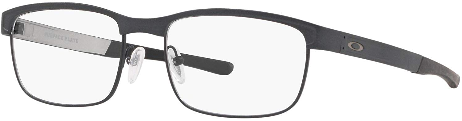 543025ad4110c Amazon.com  Oakley-Surface Plate (52) - Satin Light Steel RX Frame Only   Clothing