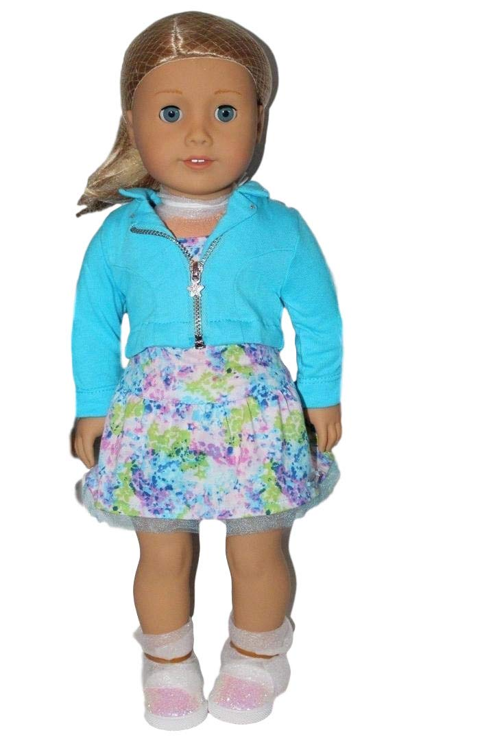 American Girl 2017 Truly Me Doll: Brown Eyes Black-Brown Hair Medium Skin Tone DN66