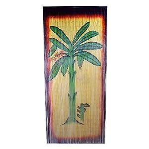 Bamboo Banana Tree Scene