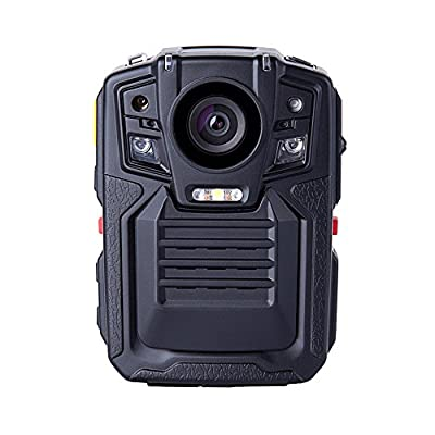 Seesii 64GB Ambarella A7L50 Super HD 1296P Police Body Worn Camera 8Hours 140°Auto Infrared Night-Vision Motion Detection Police Military Body Camera