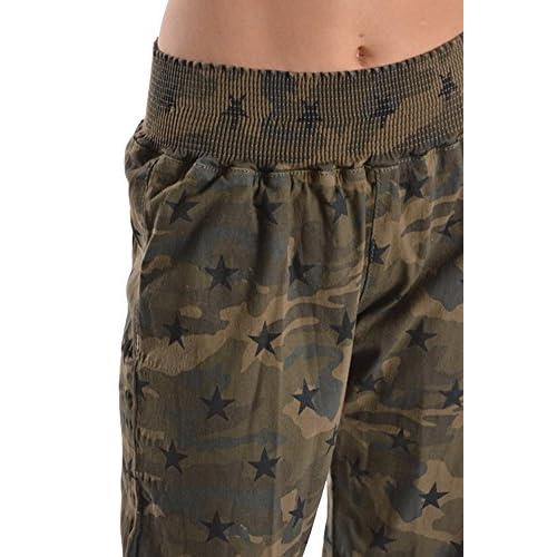7055afc8dc American Bazi Women's Star Printed Jogger Elastic Pants RJJ146B - CAMO high -quality