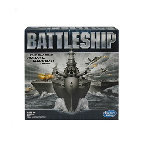 New Battleship - The Classic Naval Combat Strategy Board Game from Hasbro Games Xmas Gift