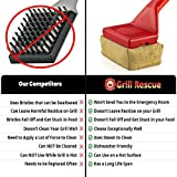 Grill Rescue BBQ Replaceable Cleaning Head, Bristle