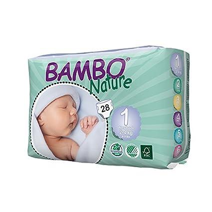 Amazon.com : Premium de pañales del bebé, rosado suave, tamaño 1, 1, 72 la libra : Baby