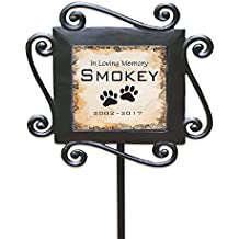 """GiftsForYouNow Personalized Pet Memorial Garden Stake, 28"""" by 8.5"""""""