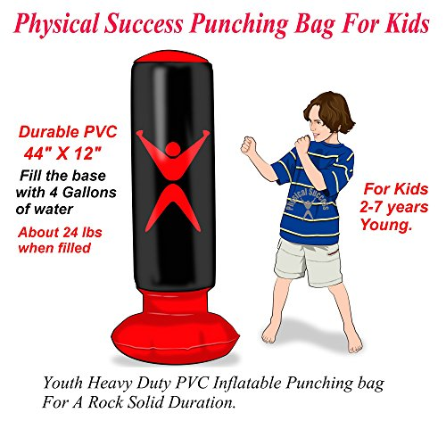 Physical Success Partners Kids Punching Bag, Youth Boxing Bag, 1 Punching Bag For Kids.