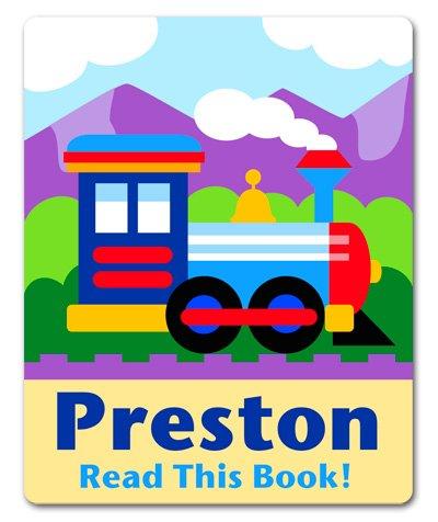Olive Kids Tptx Trains (Olive Kids Train Personalized Bookplates)