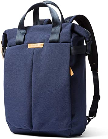 Bellroy Tokyo Totepack Water-Resistant Woven Convertible Backpack and Tote Bag 15 Laptop, Tablet, Notes, Cables, Drink Bottle, Spare Clothes, Everyday Essentials - Desert Ochre