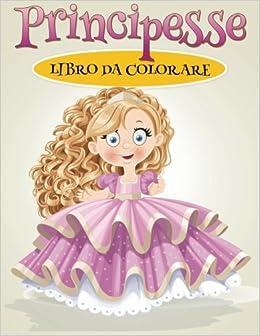 Libro Da Colorare Principesse