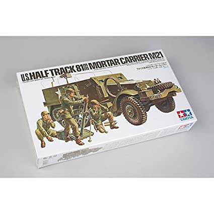 Tamiya 35083 1/35 US 81mm Mortar Carrier M21 Re-Release