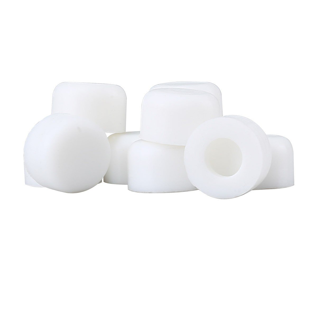 "2 - 10PK Premium Silicone White Door Stopper Tips 1/4"" ID 