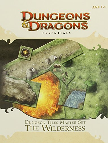 Dungeon Tiles Master Set - The Wilderness: An Essential Dungeons & Dragons Accessory (4th Edition (Dungeons Dragons 4th Edition)