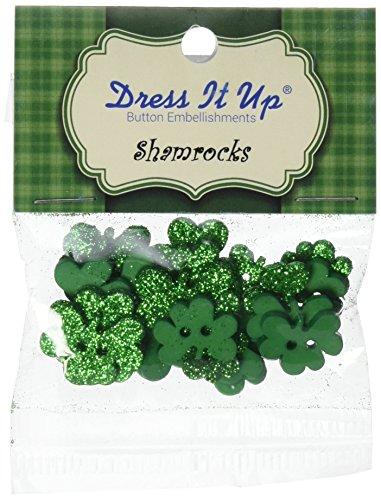 Shamrock Buttons