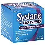 Systane Lid Wipes, Eyelid Cleansing Wipes, 30 ea