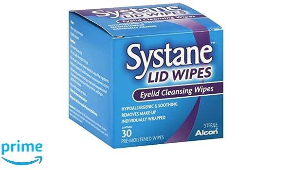 Systane - Toallitas limpiadoras para párpados, 30 unidades: Amazon.es: Industria, empresas y ciencia