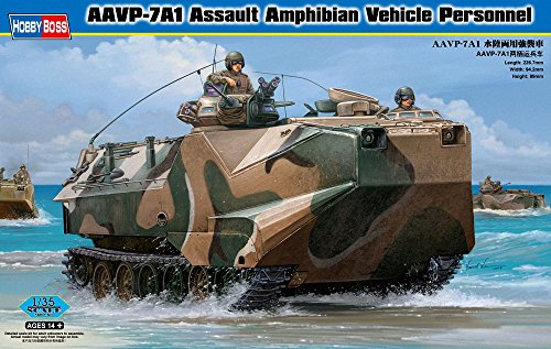 Amphibian Kit Vehicle (Hobby Boss AAVP-7A1 Assault Amphibian Vehicle Personnel Model Building Kit)