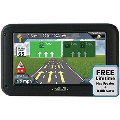 MAGELLAN RM5375SGLUC RoadMate(R) 5375T-LMB 5 GPS Device with Bluetooth(R) & Free Lifetime Map & Traffic Alert Updates Consumer electronics