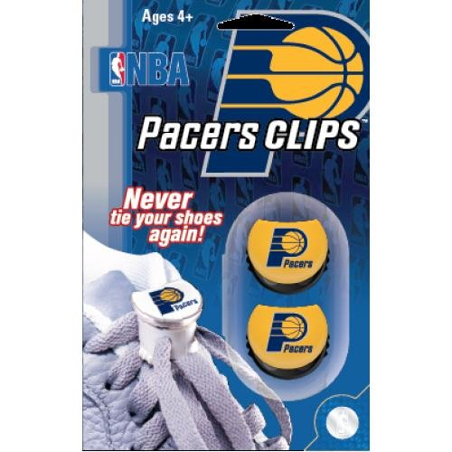 NBA Lace Clips (Pacers, Yellow)