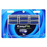 Personna EasyFit Mach3 Compatible 15 Refill Razor Blade Cartridges – Compatible with all Mach 3 razors – Triple Coated Razor Blade Edges For A Smooth Shave