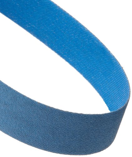 Norton BlueFire R823P Benchstand Abrasive Belt, Waterproof, Polyester Backing, Zirconia Alumina, 1