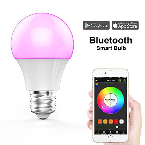 MagicLight Bluetooth Smart Light Bulb - Dimmable...
