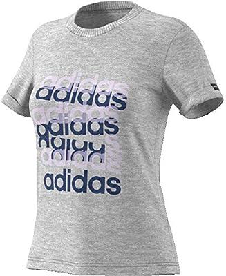 adidas W Big GFX T Camiseta, Mujer, brgrin/indtec, XL: Amazon.es: Deportes y aire libre