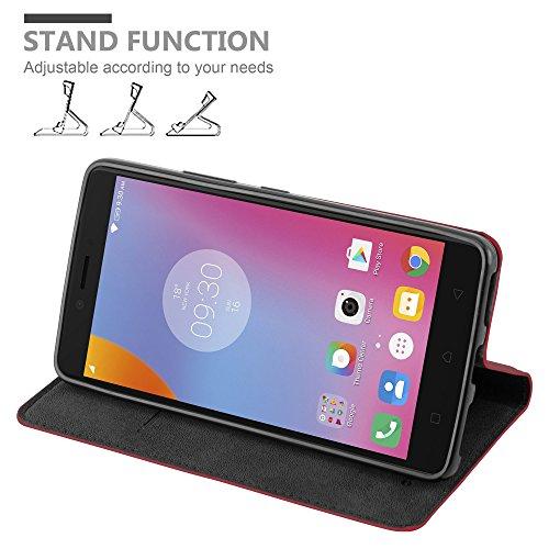 Cadorabo - Funda Book Style Cuero Sintético en Diseño Libro para >                                  Lenovo (Motorola) K6 NOTE                                  <
