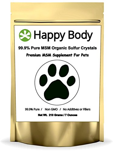 Pure, Additive-Free MSM For Dogs and Cats - 7oz Pack