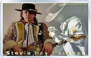 Stevie Ray Vaughan - Fridge Magnet D