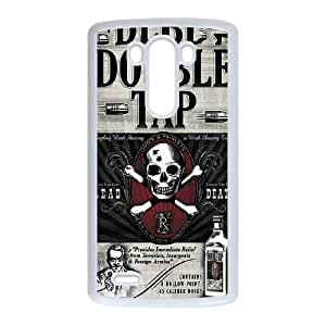 LG G3 Cell Phone Case White Double Tap BNY_6881220
